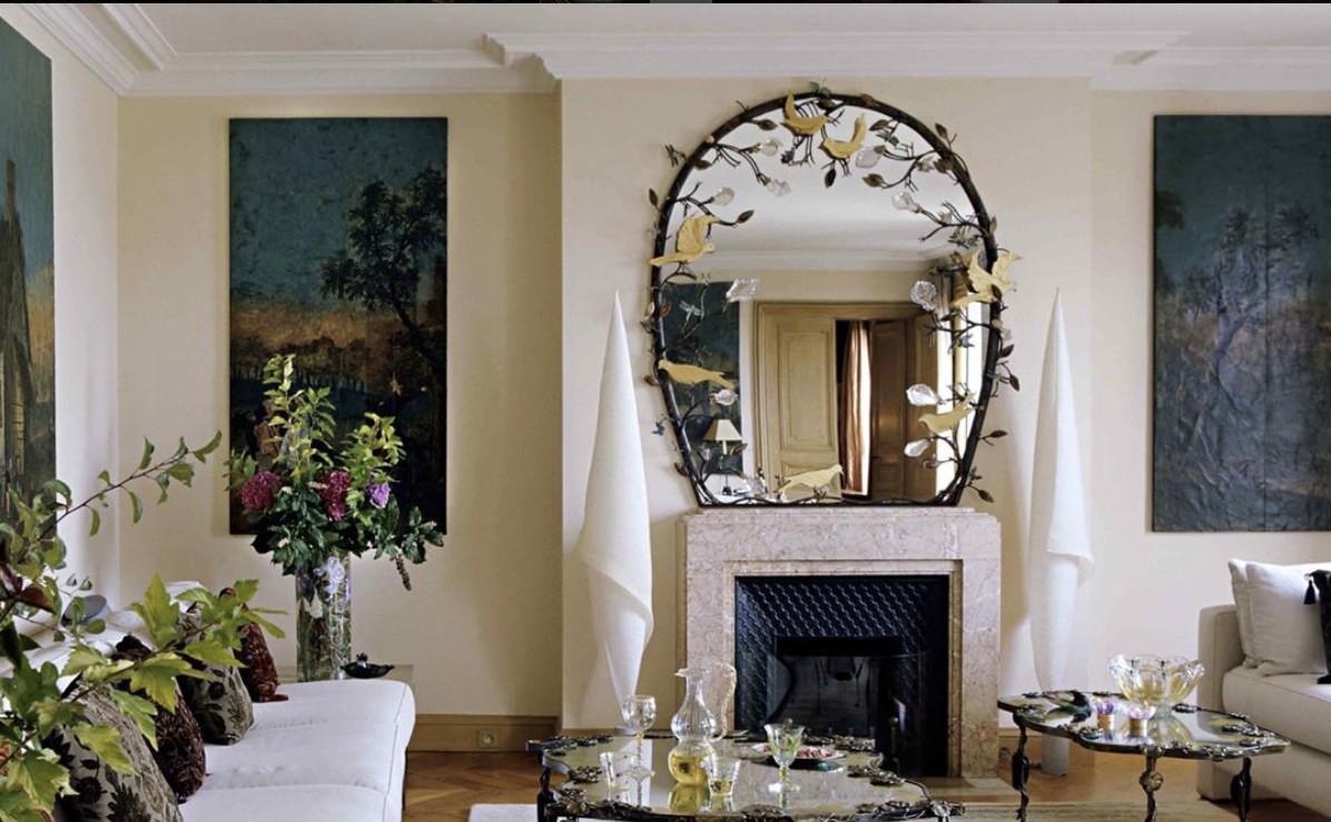 Joy de rohan chabot miroirs uniques for Beaux miroirs