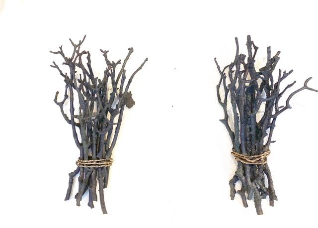 Appliques Fagots en Bronze