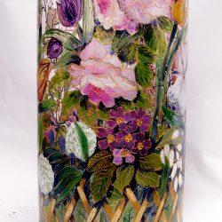 Vase roseraie